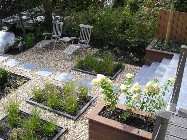 25 beste idee n over moderne tuinen op pinterest modern tuinontwerp hedendaagse tuinen en - Tuin exterieur ontwerp ...