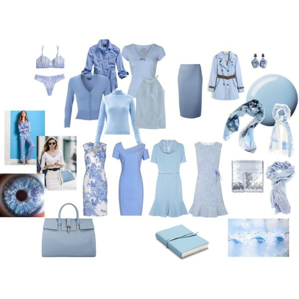 Zyla's Tranquility Color - Soft Blue/Sky Blue by create1 on Polyvore featuring Oscar de la Renta, RED Valentino, Reiss, Erdem, Hobbs, Carven, J.Crew, American Eagle Outfitters, Victoria's Secret and Presence