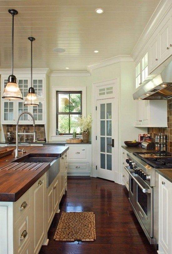 101 awesome craftsman kitchen design ideas (44)