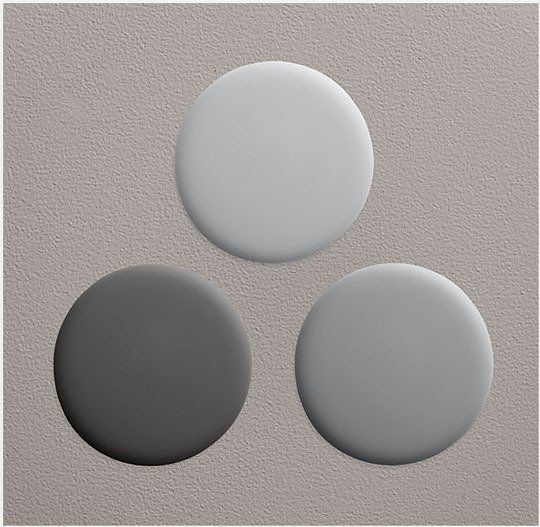 Paint Color Portfolio: Pale Gray Kitchens