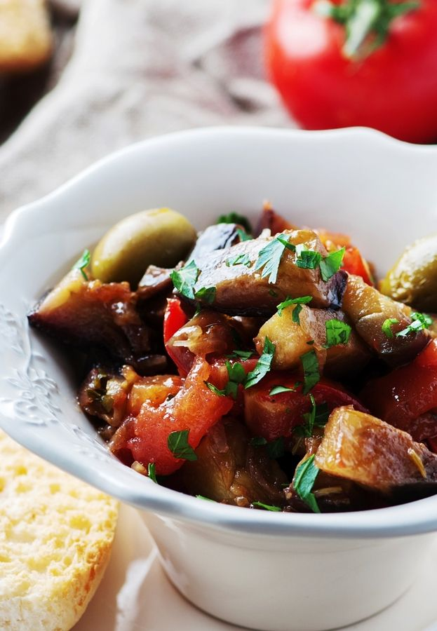 caponata homemade recept aubergine