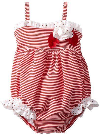 Amazon.com: Kate Mack Baby-Girls Newborn Regatta Swim Bubble: Baby