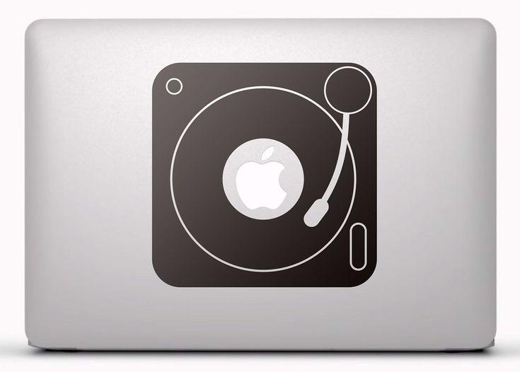 Pegatinas: Tocadiscos Vinilo, pegatina, adhesivo para portátil, Mac, o Macbook. #vinilosportatil  #vinilosmac #vinilosmacbook