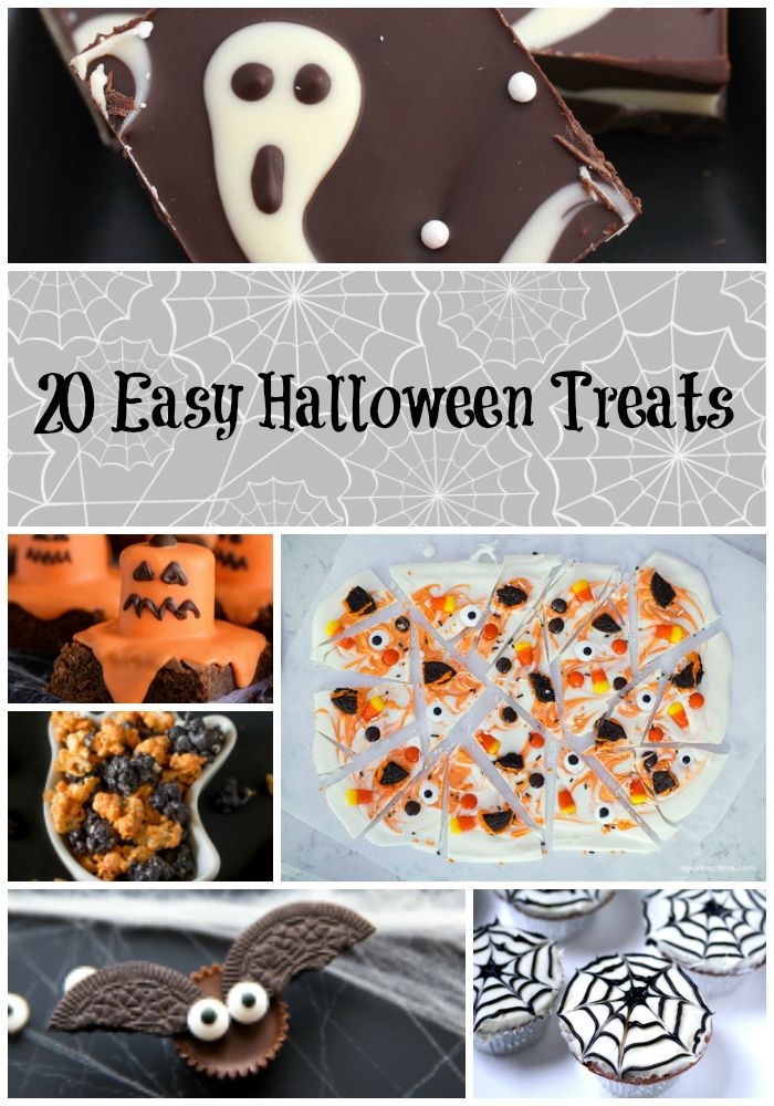 20 fun and easy halloween treats perfect for a halloween party or a surprise treat for the kids these recipes are so easy your kids can likely make most - Quick And Easy Halloween Treats For Kids To Make