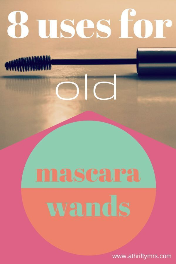 8 Uses For Old Mascara Wands - A Thrifty Mrs, actually some cool tips!  I know what i'm using my old one for now! cleaning, hair-do, hair dye Best Thrifty Tips #thrifty Best Thrifty Tips #thrifty