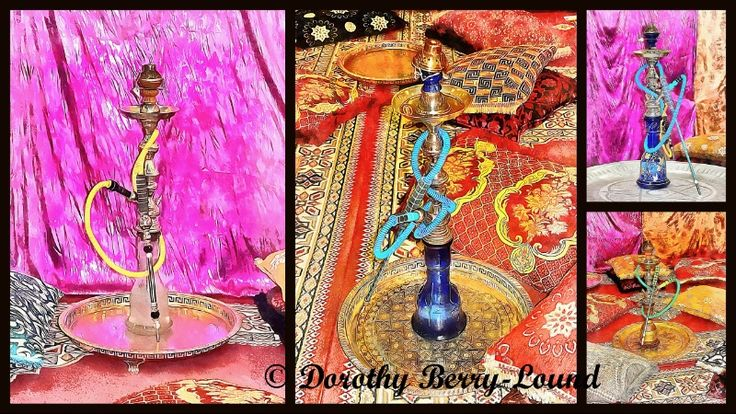 Click to read my blog, a look at hookah pipes and their use as part of interior decor, their history, current use including in hookah lounges and some exotic artwork.  #hookah #interiordecor #blogging