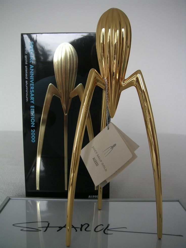 philippe starck pure gold juicy salif alessi pinterest philippe starck. Black Bedroom Furniture Sets. Home Design Ideas
