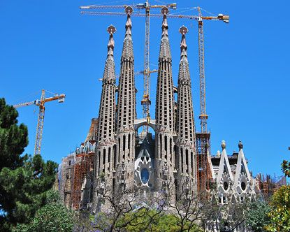 i'll be back in 15 years when this is finished. shout out to gaudi for being insane... and brilliant