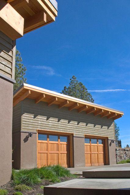 Good Image Result For Wooden Garages Flat Roof