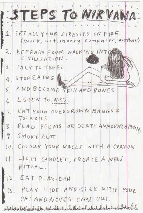 From Kurt's Journals. <3 Oh, Kurt.