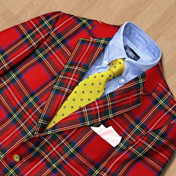 royal stewart tartan jacket