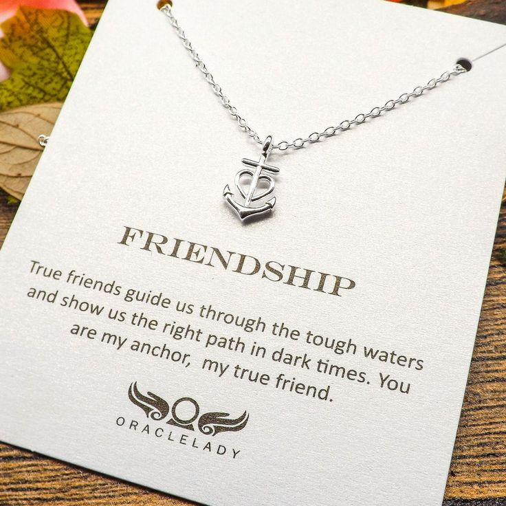 Friendship Quotes Jewelry: 17 Best Ideas About Anchor Necklace On Pinterest