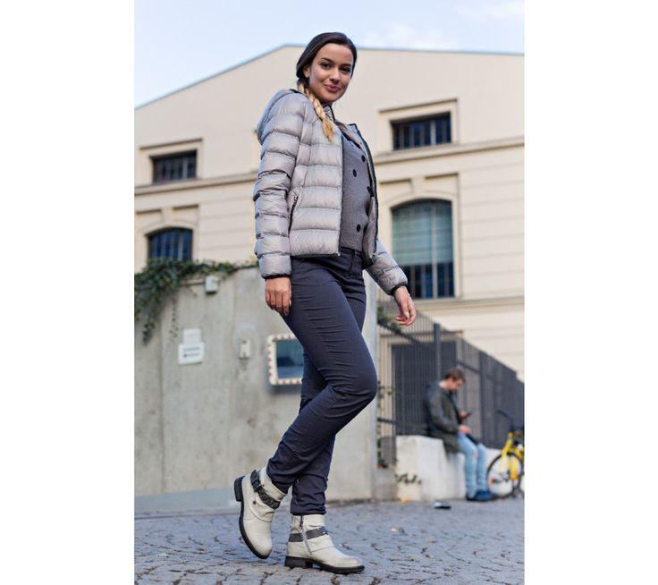 Bunda s prachovým perím Heine | modino.sk #modino_sk #modino_style #style #fashion #lookbook