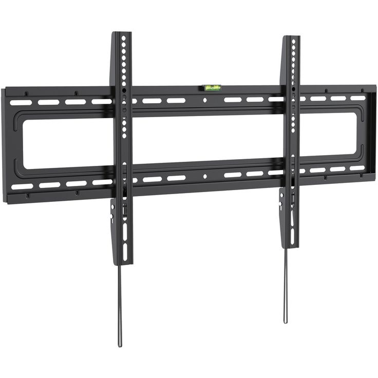Ergotech Wall Mount for TV - 70 Screen Support - 110 lb Load Capacity - Black