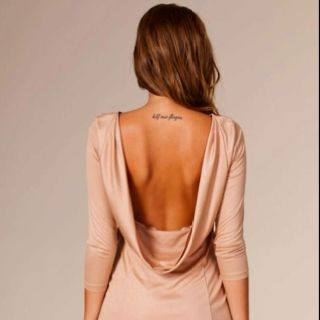 Upper back tattoo. Love placement. Just so many back tattoos that I like.