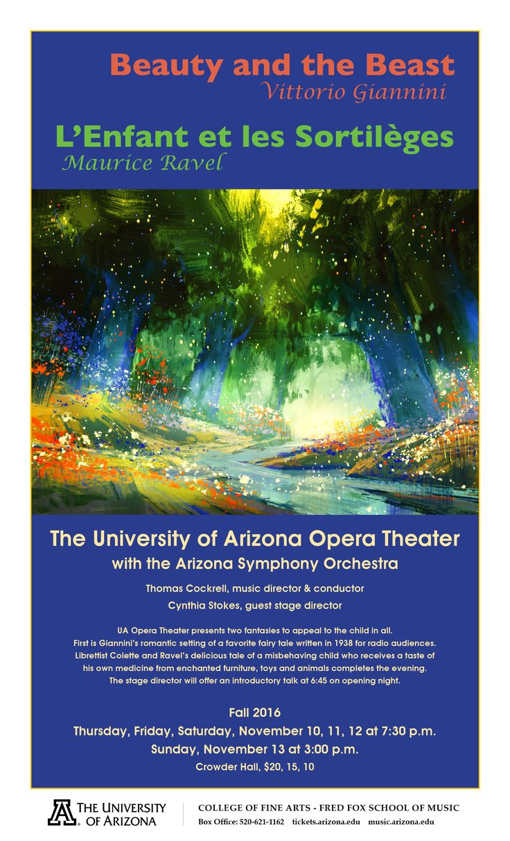 201 best UA Fred Fox School of Music Upcoming Events images on ...