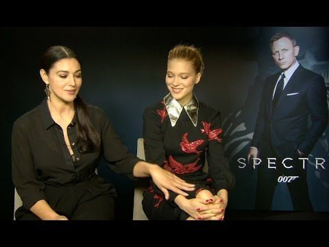 nice Watch Monica Bellucci and Lea Seydoux Interview - SPECTRE (2015) 007 HD
