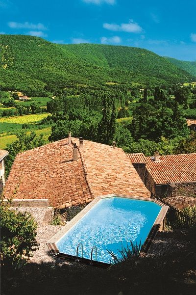 11 best images about piscine techniquement hors sol on pinterest more provence caves and. Black Bedroom Furniture Sets. Home Design Ideas