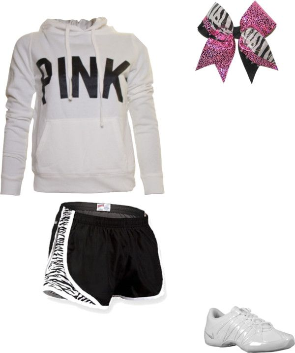 """Cheer outfit."" by iliveonplanetearth on Polyvore"