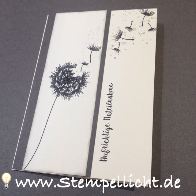 Trauerkarten mit Stampin´Up!