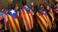 Catalonia: Spanish flags and what they mean