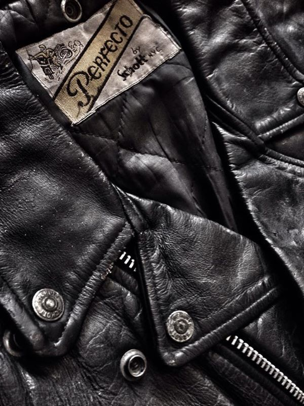 the greaser leather jacket Perfecto by Schott