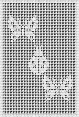 filet crochet butterfly and beetle