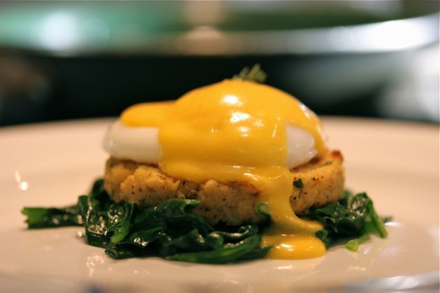 Everyday Paleo Crab Cake Eggs Benedict