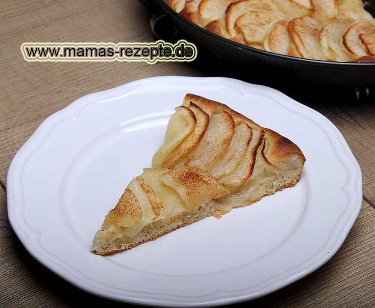 Rezept Omas Apfelkuchen mit Hefeteigboden auf Mamas Rezepte Homepage