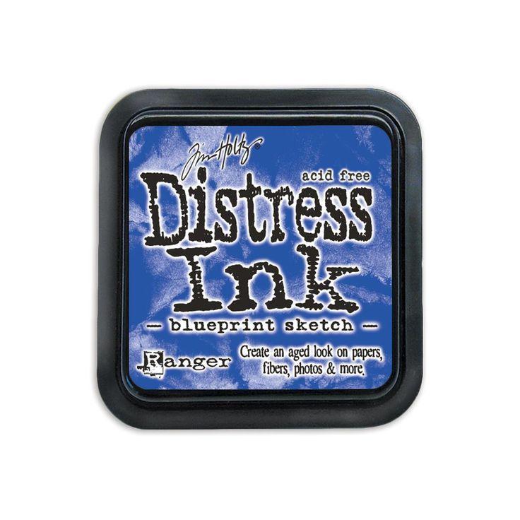 Tim Holtz Distress Ink Pad Juli - Blueprint Sketch