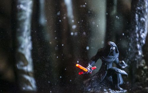 Kylo Ren - Disney Infinity Light FX figure Pics by Instagram photographer Johnny Wu, a.k.a. sgtbananas
