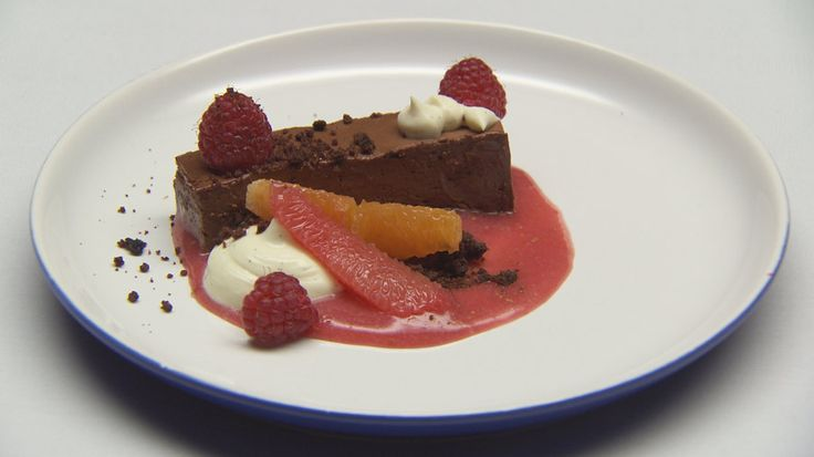 Chocolate Pave with Citrus from Masterchef Australia