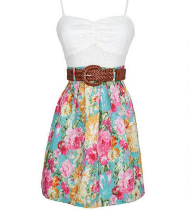 cute summer dress kleider pinterest sch ne outfits. Black Bedroom Furniture Sets. Home Design Ideas