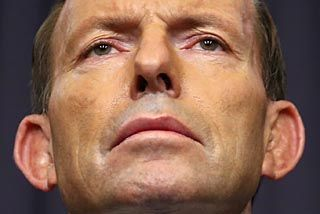 Abbott axe poised to fall on carbon tax
