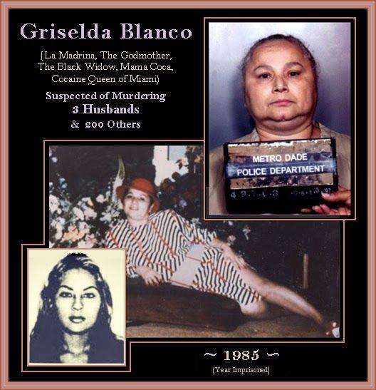 : Griselda Blanco, Suspected of Murdering 3 Husbands & 200 Others – 1985