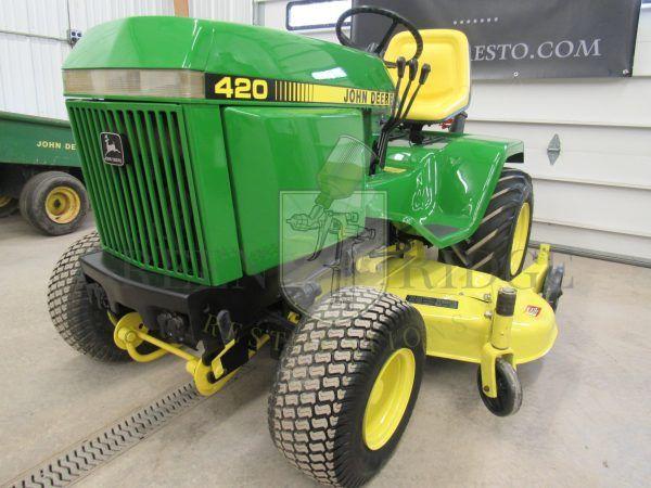 Pin On Vintage John Deere Garden Tractors