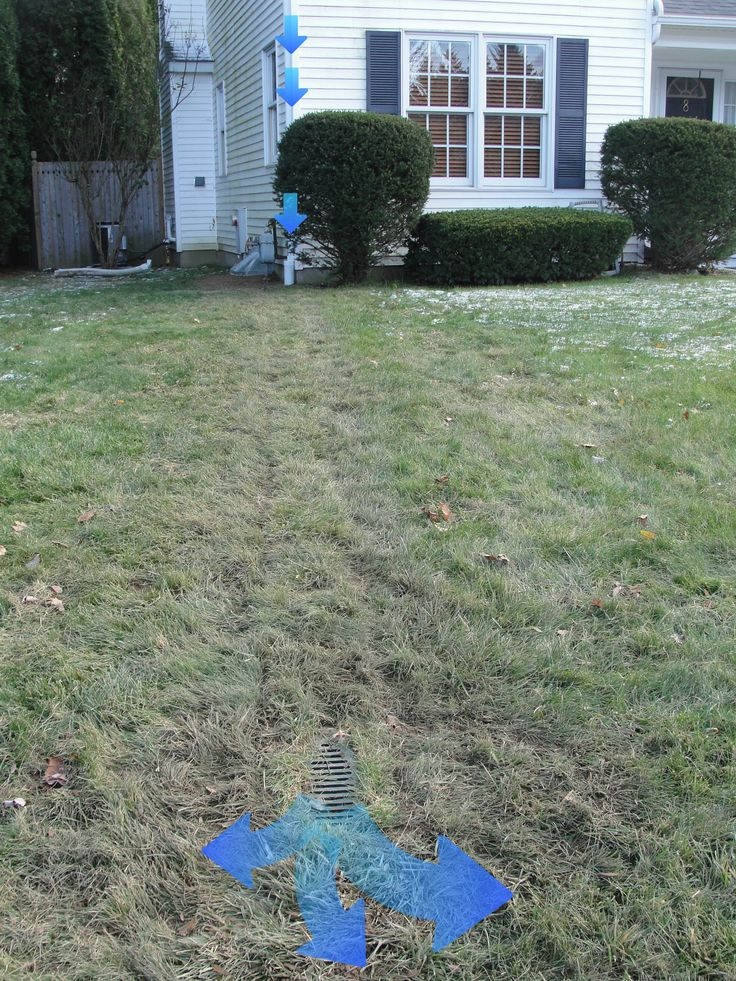 Foundation waterproofing and gutter downspout drainage ...