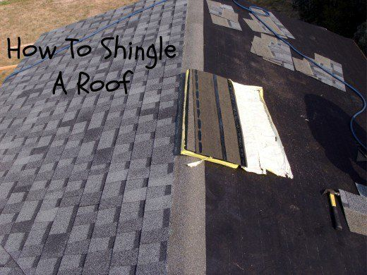 How To Shingle A Roof Laying Asphalt Shingles Roof Repair Shingling Roofing