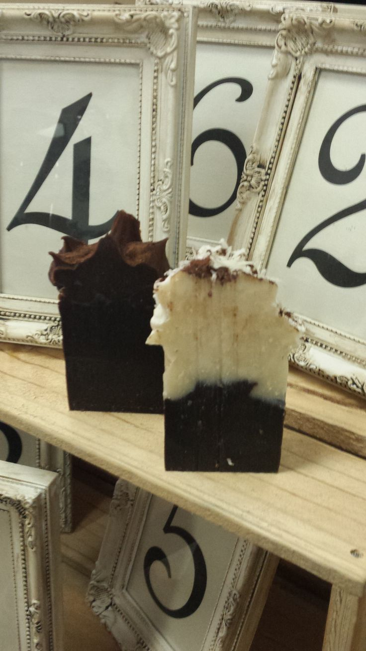 Handmad Soap: Chocolate Cake and Coconut Rough