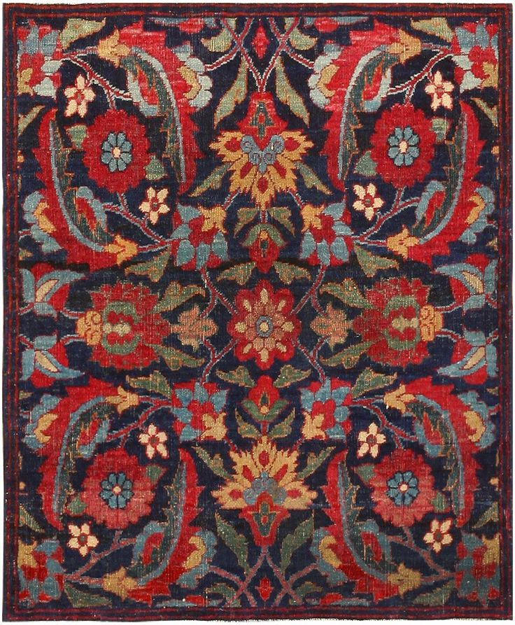 Antique Persian Kerman Rug 47983 Main Image - By Nazmiyal