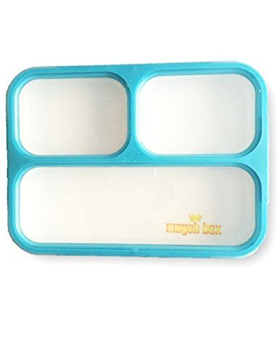 MAGOH Bento Box Leakproof Portion Control Sandwich Packed Divided Lunch Container for Adults Kids