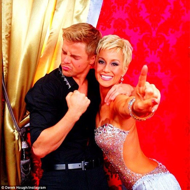 Dancing with the Stars' Kellie Pickler hangs with Derek Hough and Wynonna Judd | Mail Online