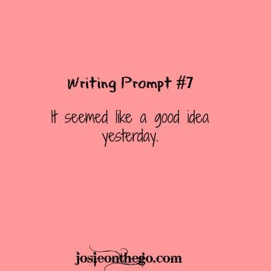 Writing Prompt #7 | Josie on the Go