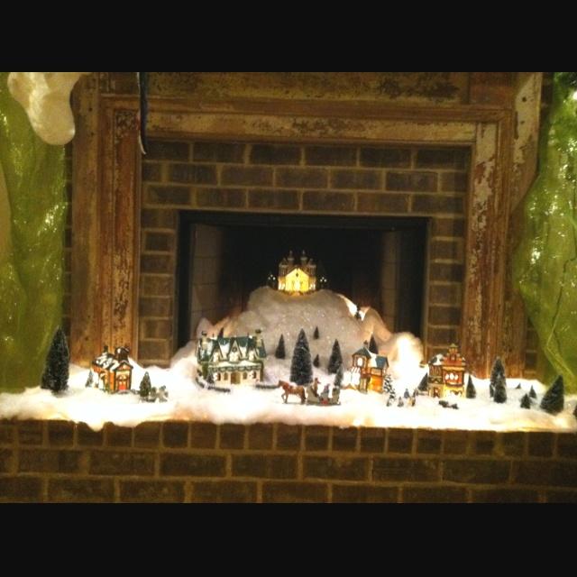 203 best Christmas Village(((❤ ❤ ))) images on Pinterest ...