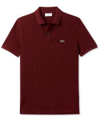 LACOSTE Lacoste Slim-Fit Polo. #lacoste #cloth #