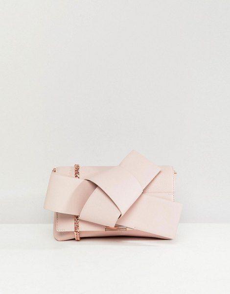2dd642912b141 Giant knot cross body clutch bag by Ted Baker  tedbaker  bags