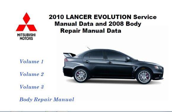 Mitsubishi Lancer Evolution 2010 Repair Manual Mitsubishi Lancer Mitsubishi Mitsubishi Lancer Evolution