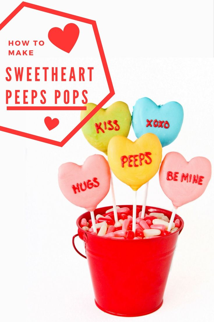 Valentineu0027s Day Is Just Around The Corner! Save These Sweetheart PEEPS Pops  From Love From