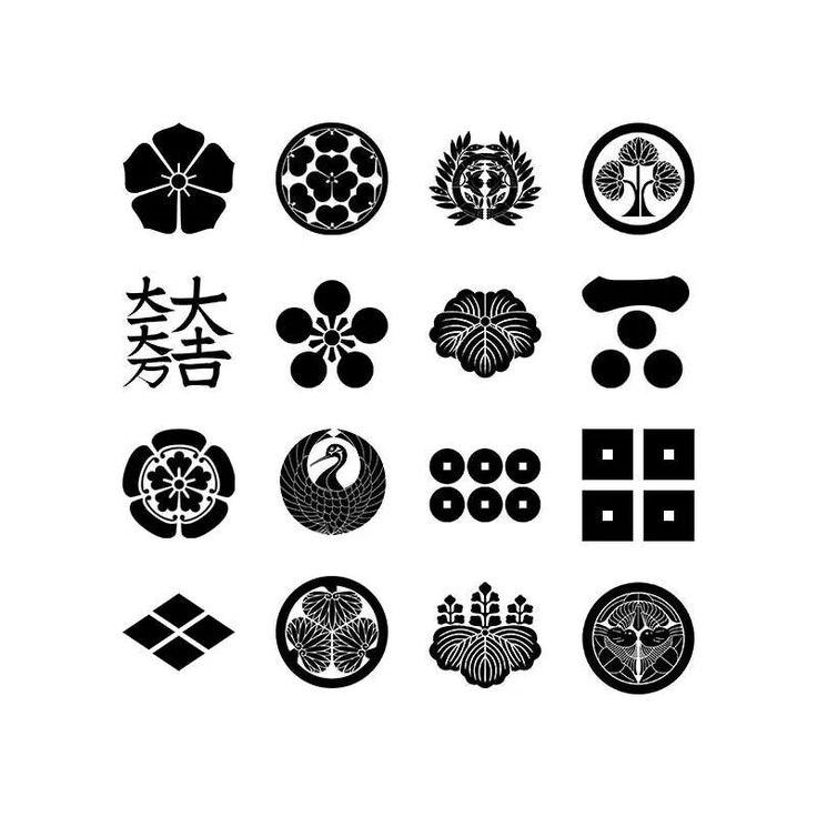 Crestas familiares del periodo Sengoku