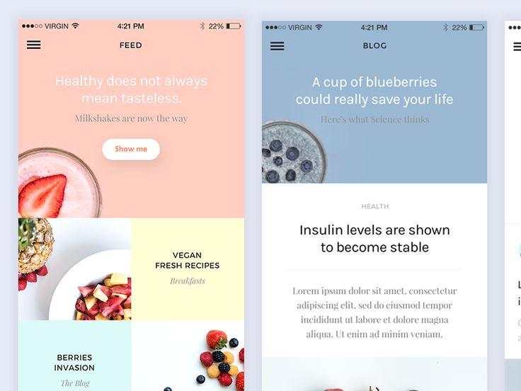 Recipe app by Matteo Pasuto